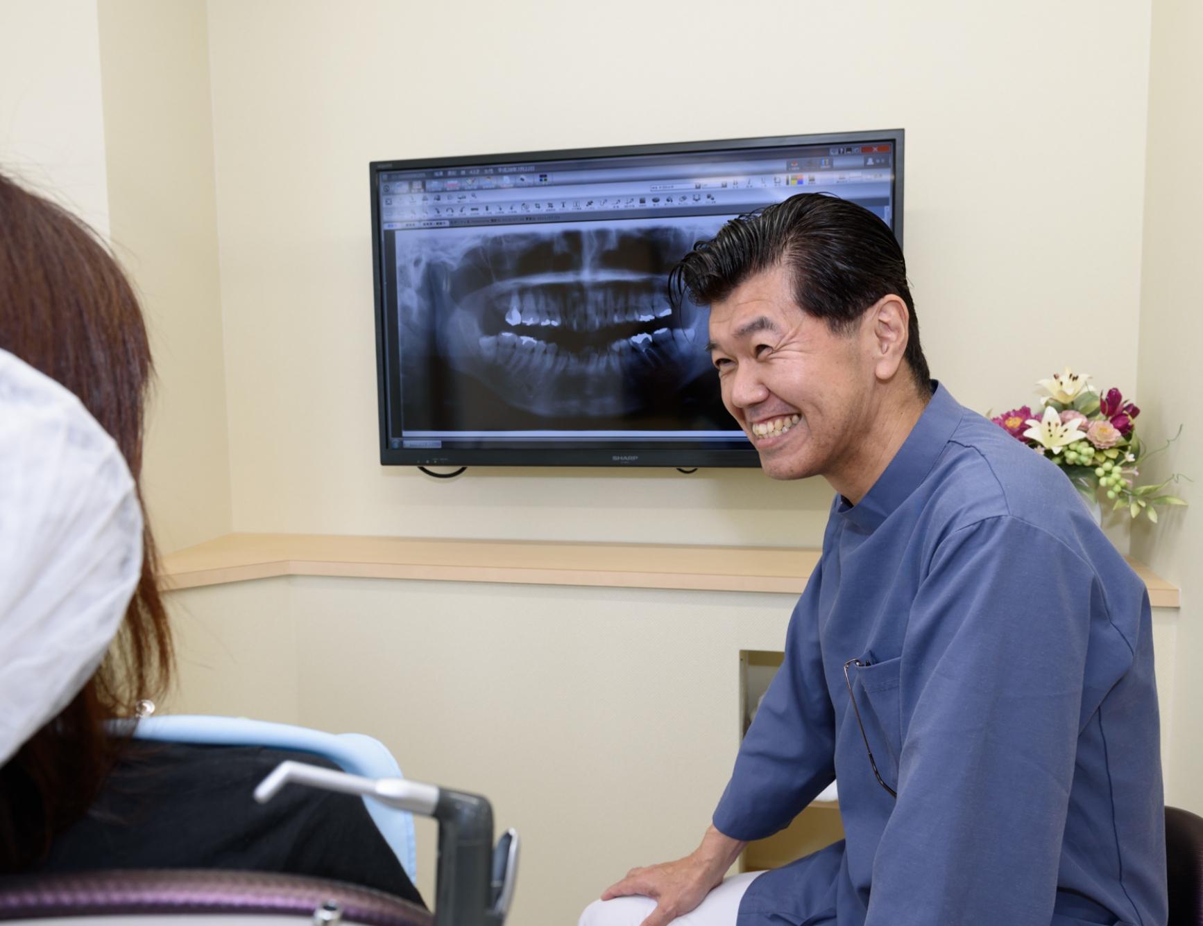 地域で一番なくなったら困る歯医者